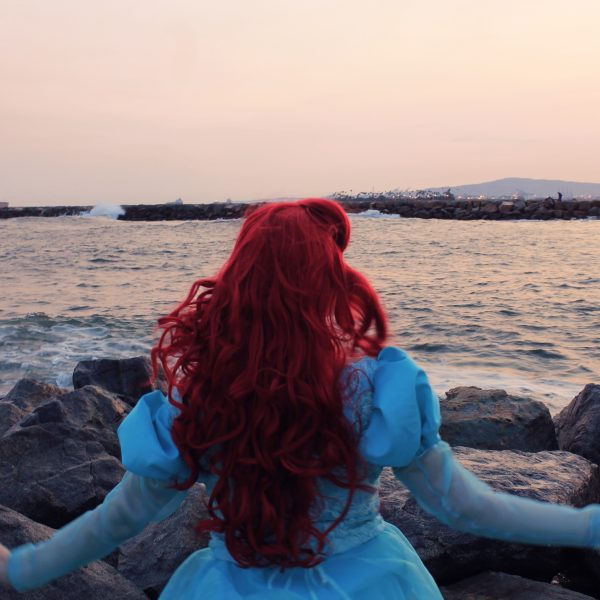 Ariel Park Dress Cosplay Lochlan O'Neil