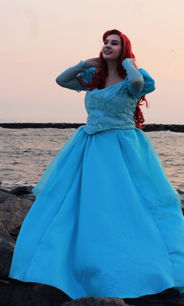 Ariel Park Dress Cosplay Lochlan O'Neil 6