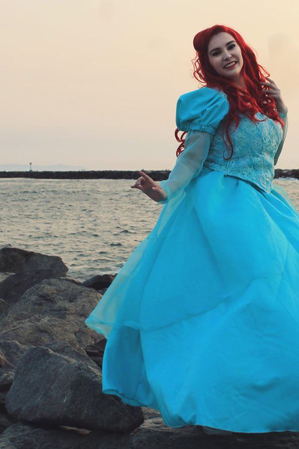 Ariel Park Dress Cosplay Lochlan O'Neil 7